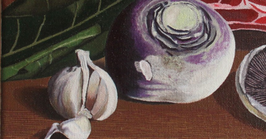 Detail from still life